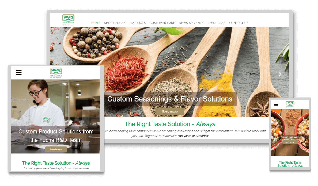 food-service-responsive-website-design