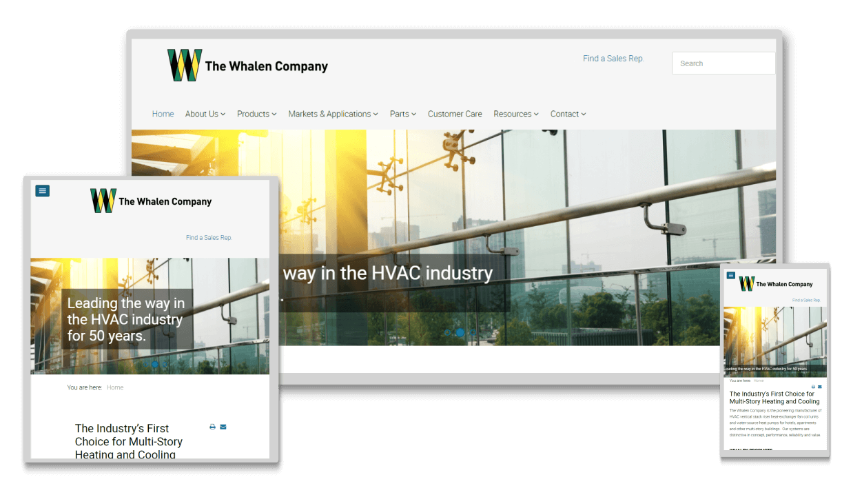 hvac-manufacturer-company-responsive-website-design