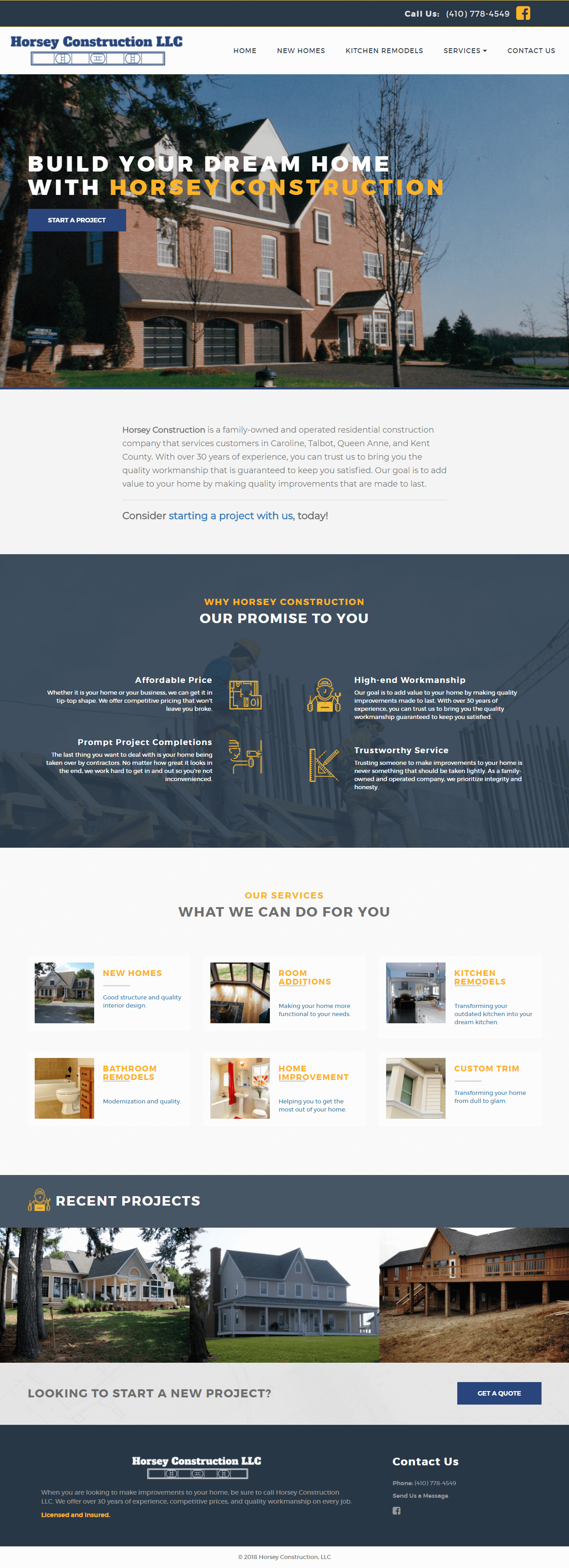 horsey-construction-contractor-website-design-screenshot